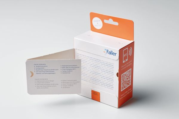 August Faller présentera sa Zoom-box à Pharmapack
