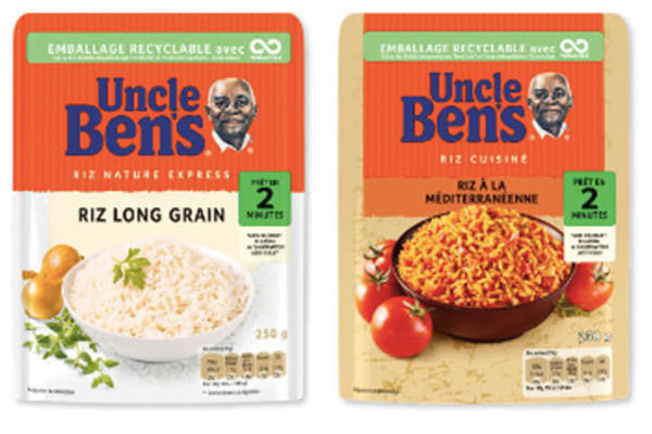 TerraCycle recycle les sachets Uncle Ben's