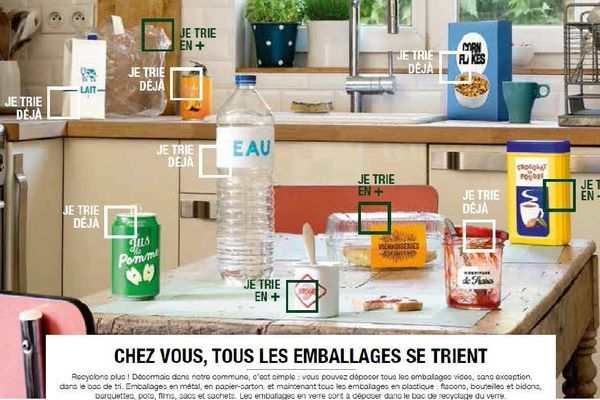 Eco-Emballages simplifie le tri