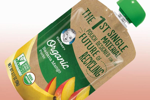 Gerber propose aussi une gourde recyclable