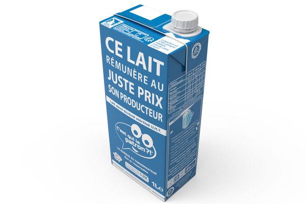 Plus de matières renouvelables dans la brique de lait C'est qui le patron ?!