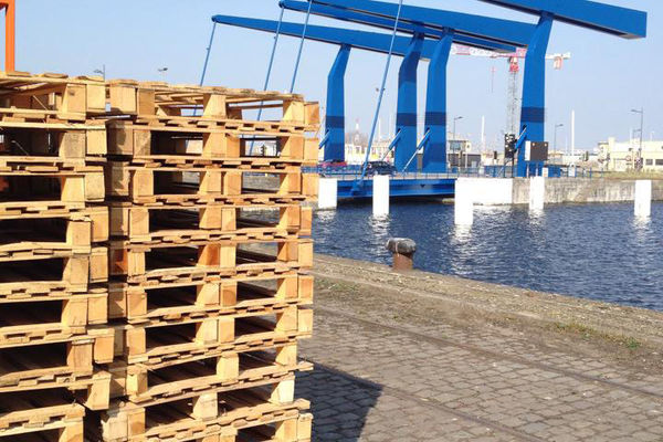 RDB Pallets reconditionne à Ostende