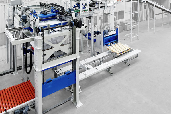 Un palettiseur plus performant chez Beumer