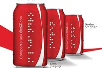 Coca-Cola personnalise en braille
