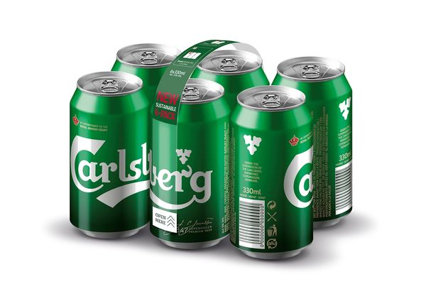 Carlsberg colle ses canettes