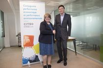 Therese Coffey chez Citeo