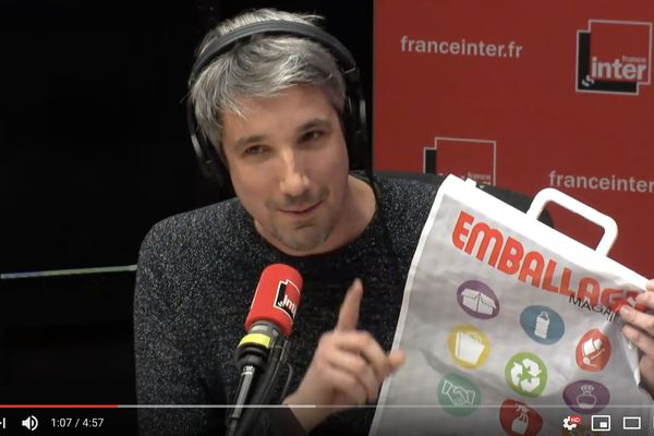 Guillaume Meurice sur All4Pack